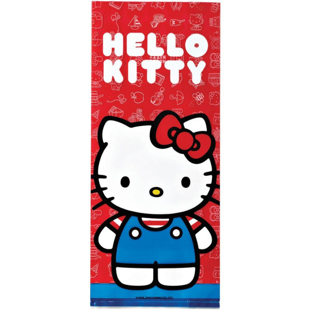 "Treat Bags 4""X9.5"" 16/Pkg-Hello Kitty"