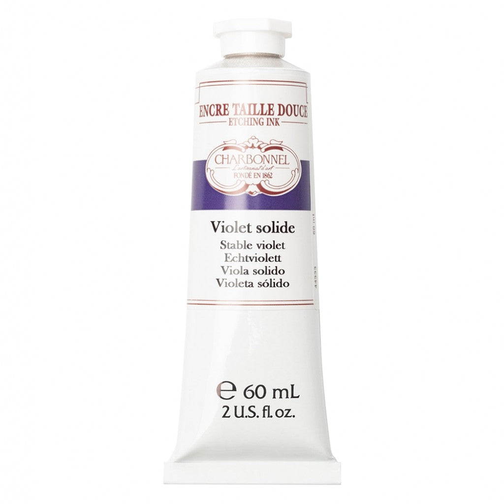 Charbonnel Etching Ink - Permanent Violet 60ml.