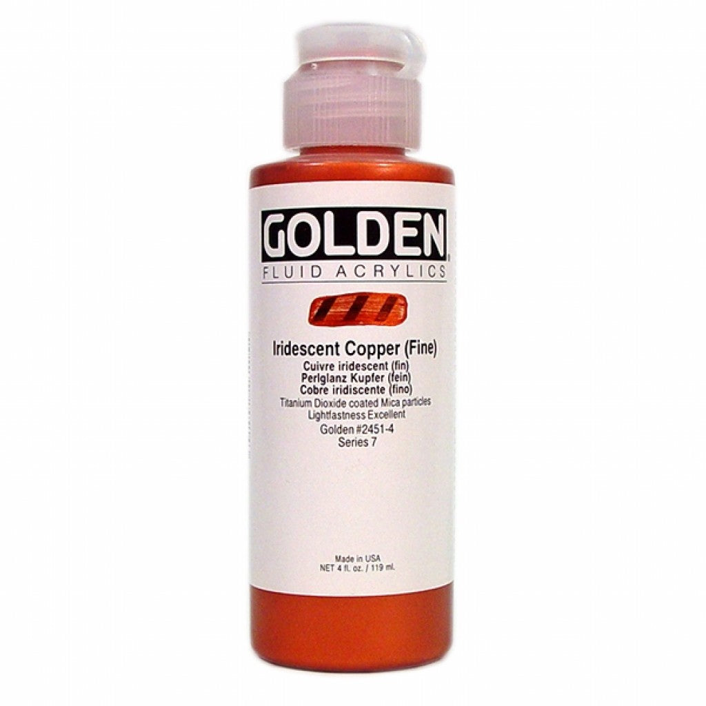 Golden Fluid 118ml - Interference Copper (Fine)