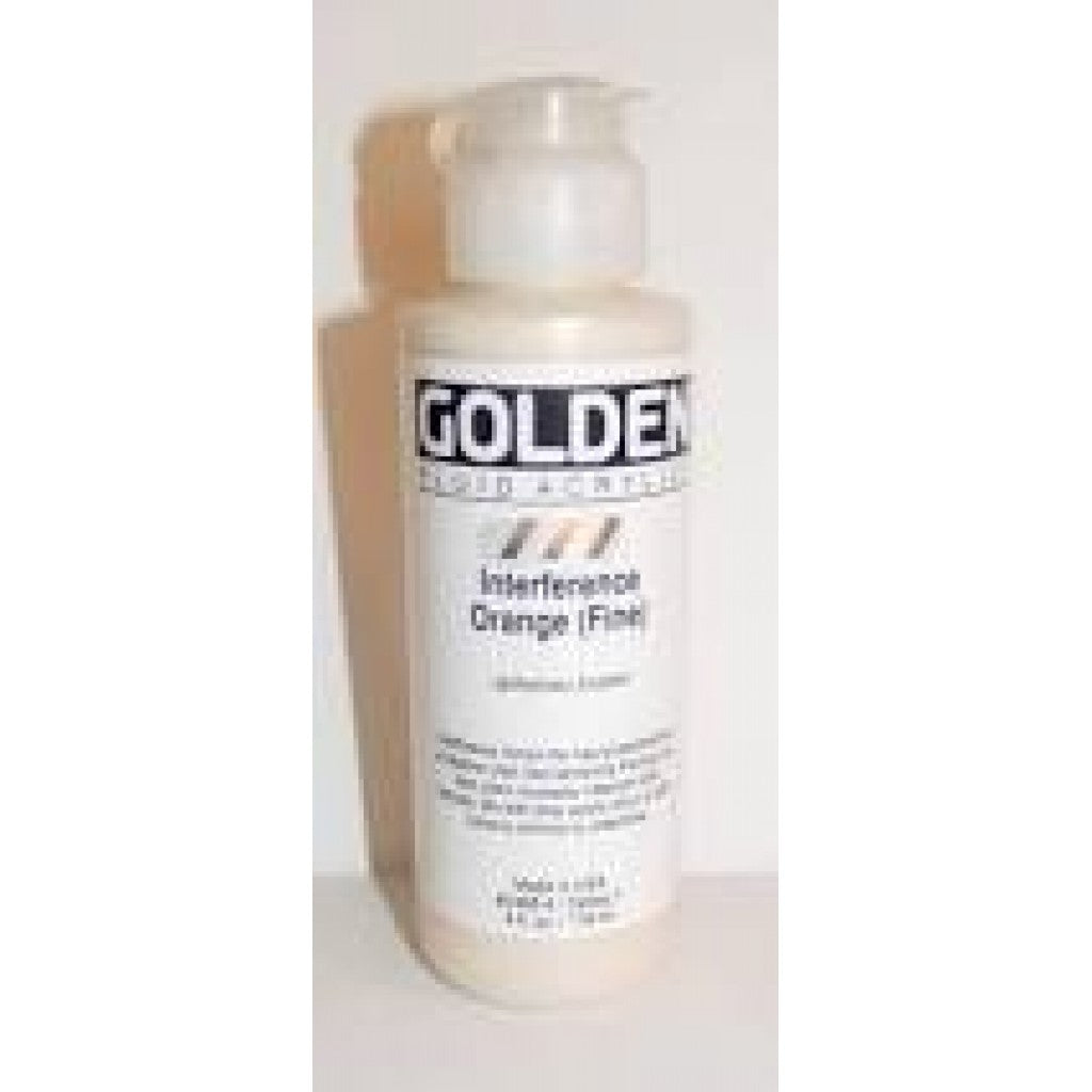 Golden Fluid 118ml - Interference Orange