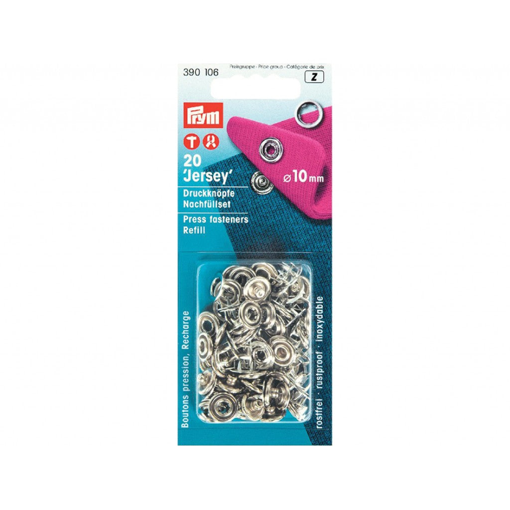 Prym Trykknapp refillpakke for 390107