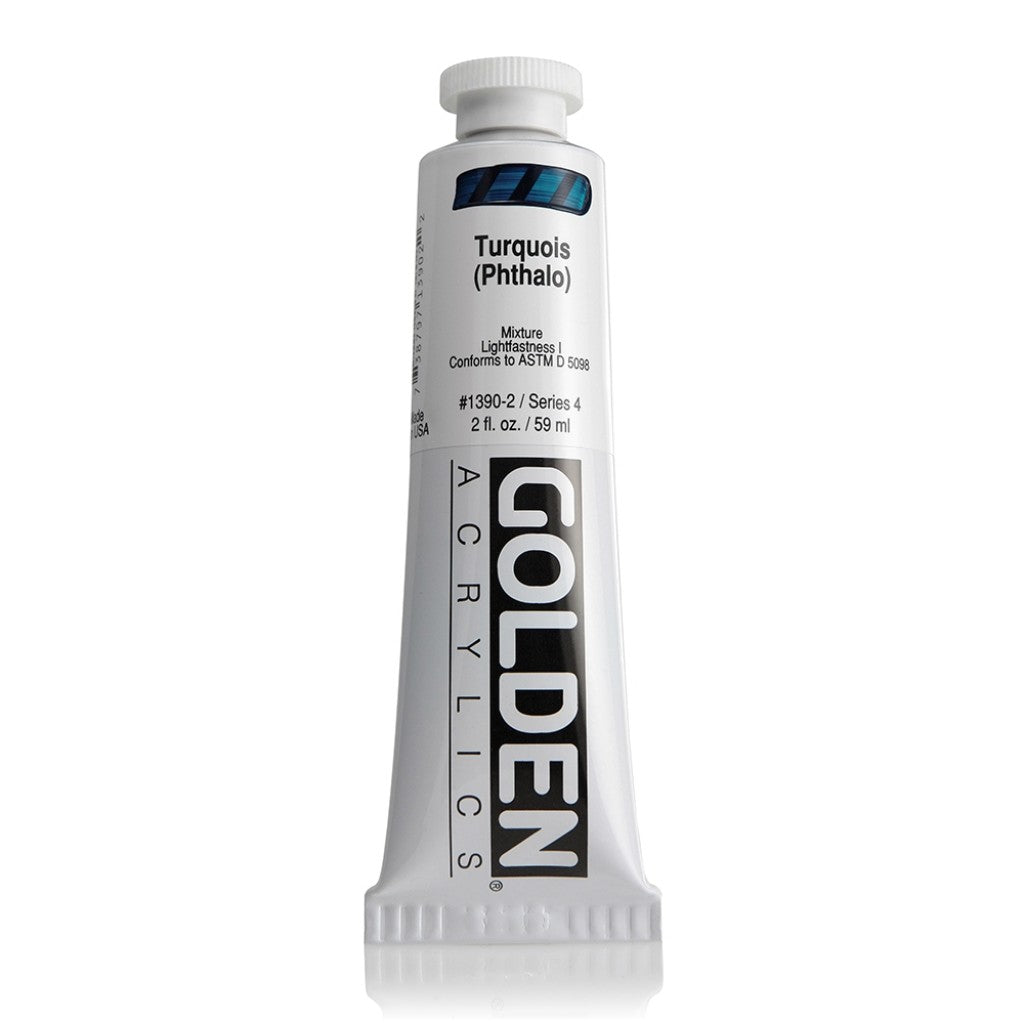 Golden Heavy Body 59ml - 1390-2 - Turquois (Phthalo)