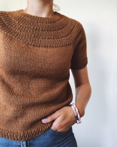Ankers Sommerbluse - Mønster Petite Knit