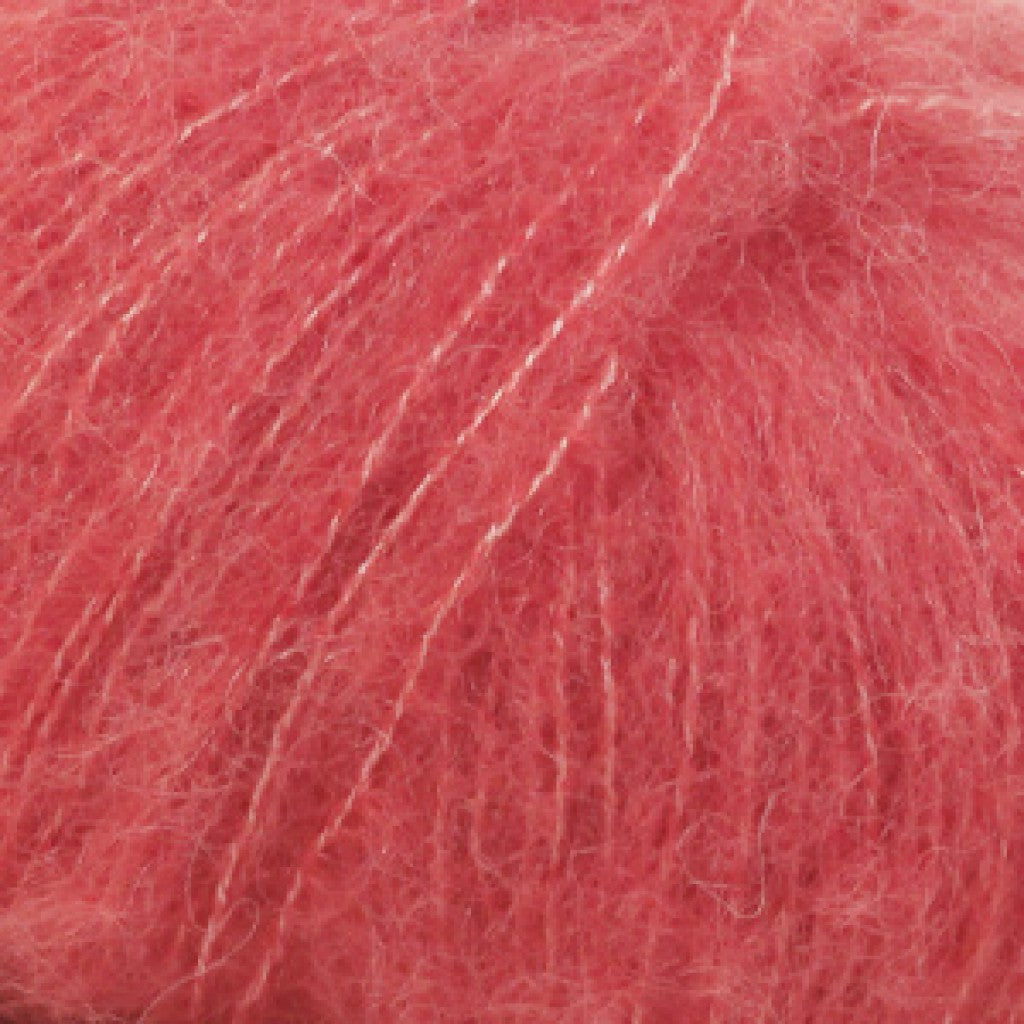 Brushed Alpaca Silk Uni - 6 Korall