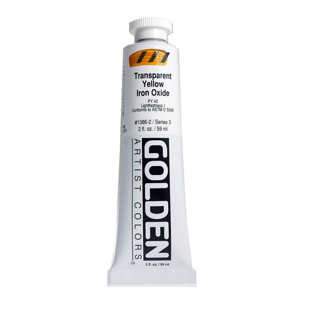 Golden Heavy Body 59ml - 1386-2 - Transparent Yellow Iron Oxide
