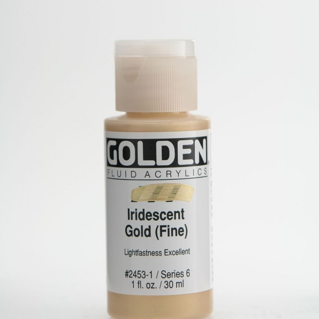 Golden Fluid 30ml - Iridescent Gold (Fine)