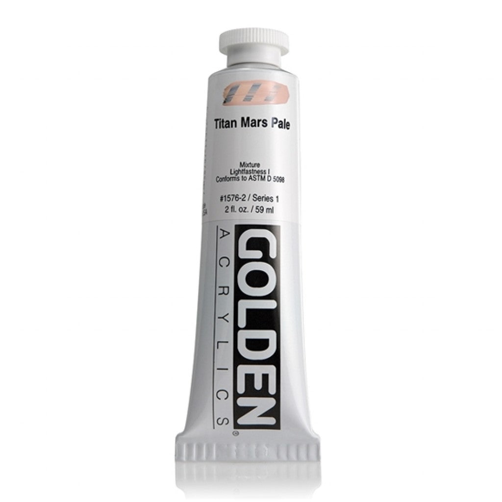 Golden Heavy Body 59ml - 1576-2 - Titan Mars Pale