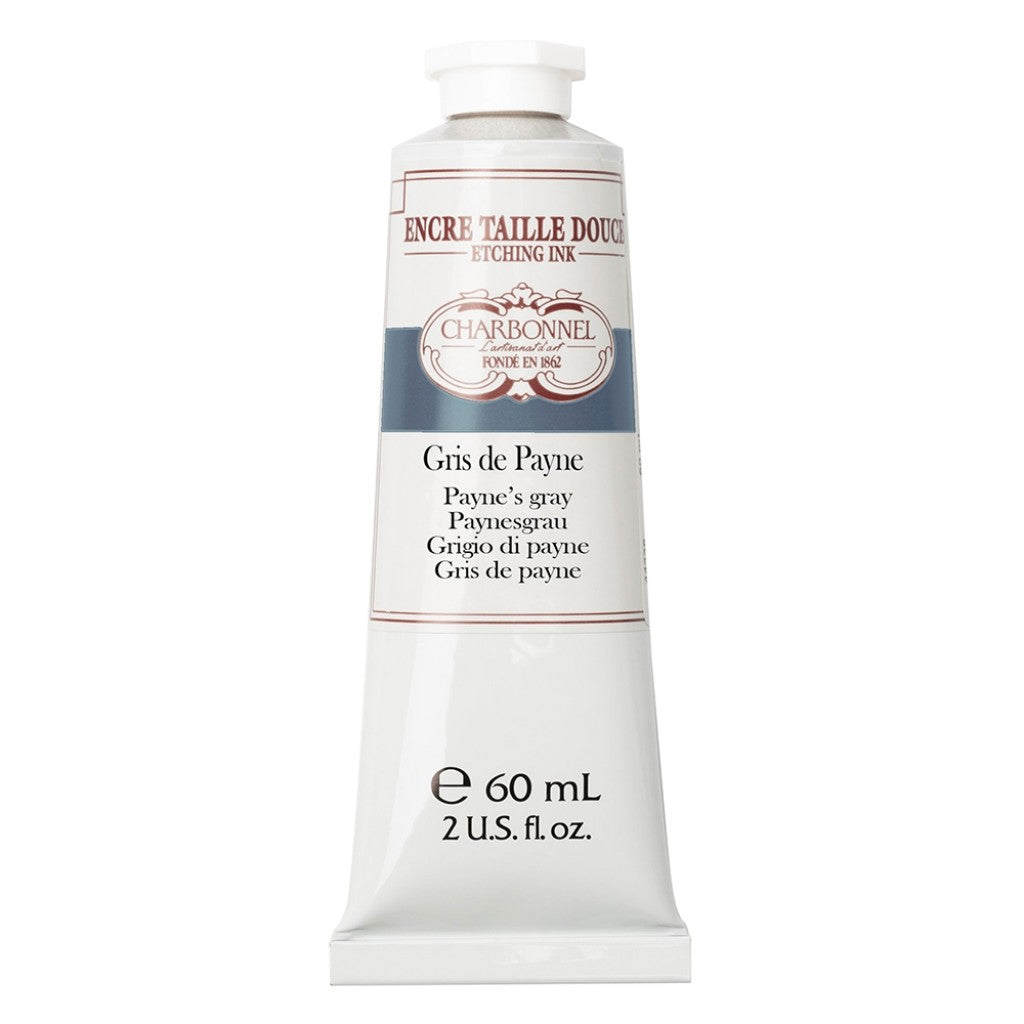 Charbonnel Etching Ink - Paynes Grey 60ml.