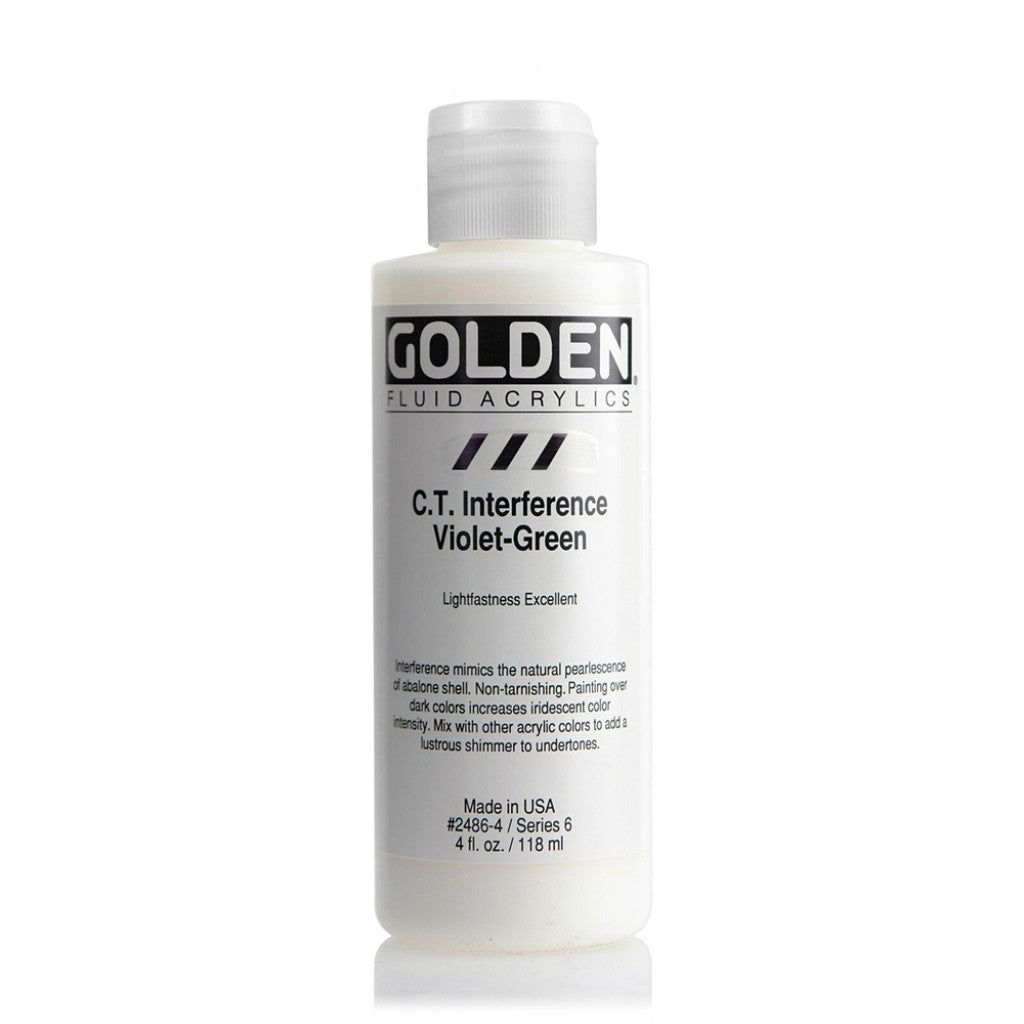 Golden Fluid 118ml - C.T. Interference Violet-Green