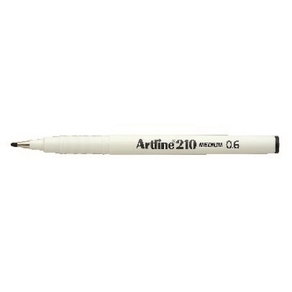 Artline - Fineliner 210 - Broad 0.6 - Black