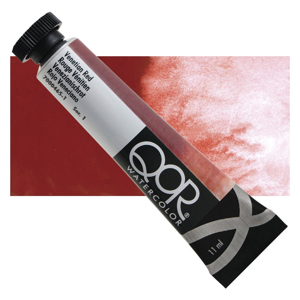 QOR akvarell 11ml Venetian Red 04651