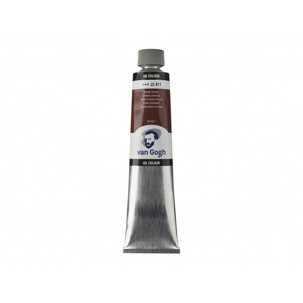Van Gogh Olje 200ml - 411 Burnt sienna