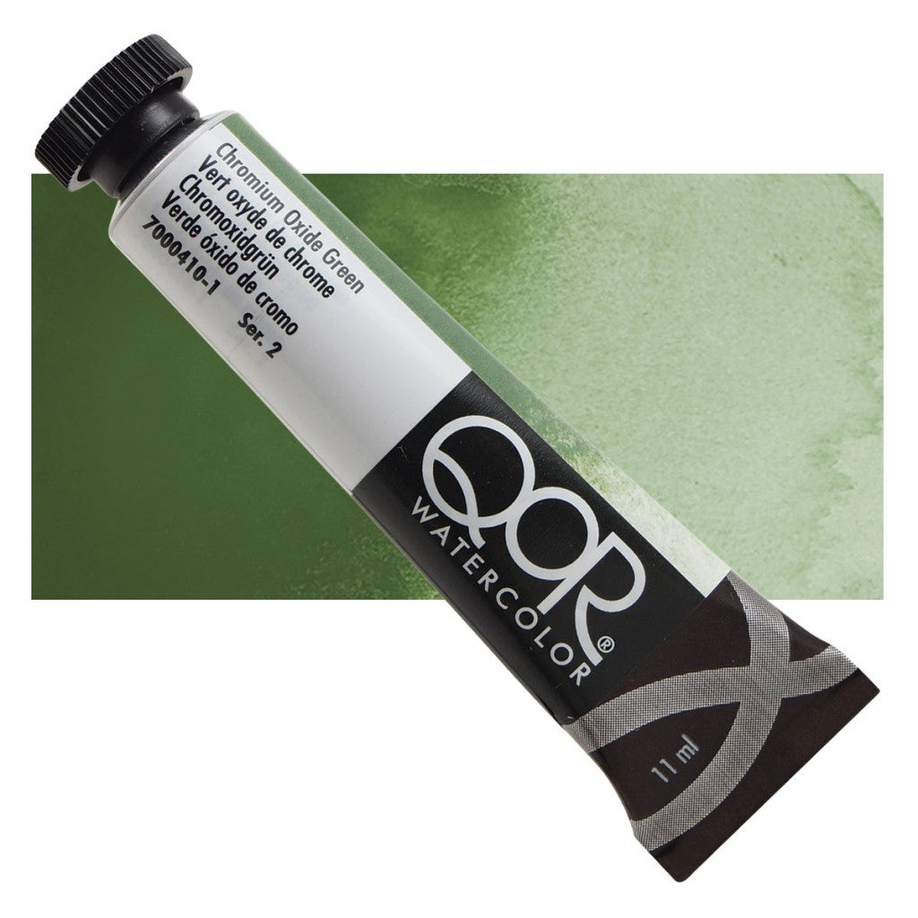 QOR akvarell 11ml Chromium Oxide Green 04101