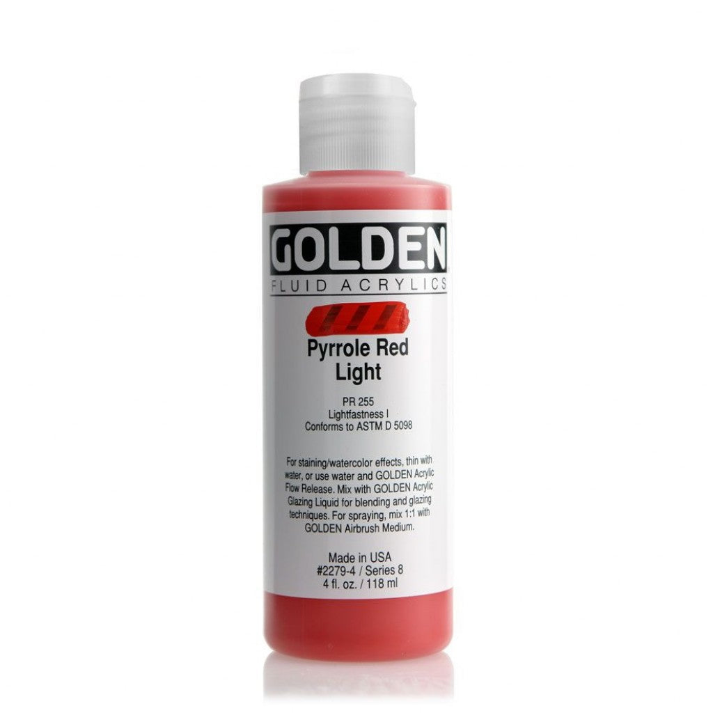 Golden Fluid 118ml - Pyrrole Red Light