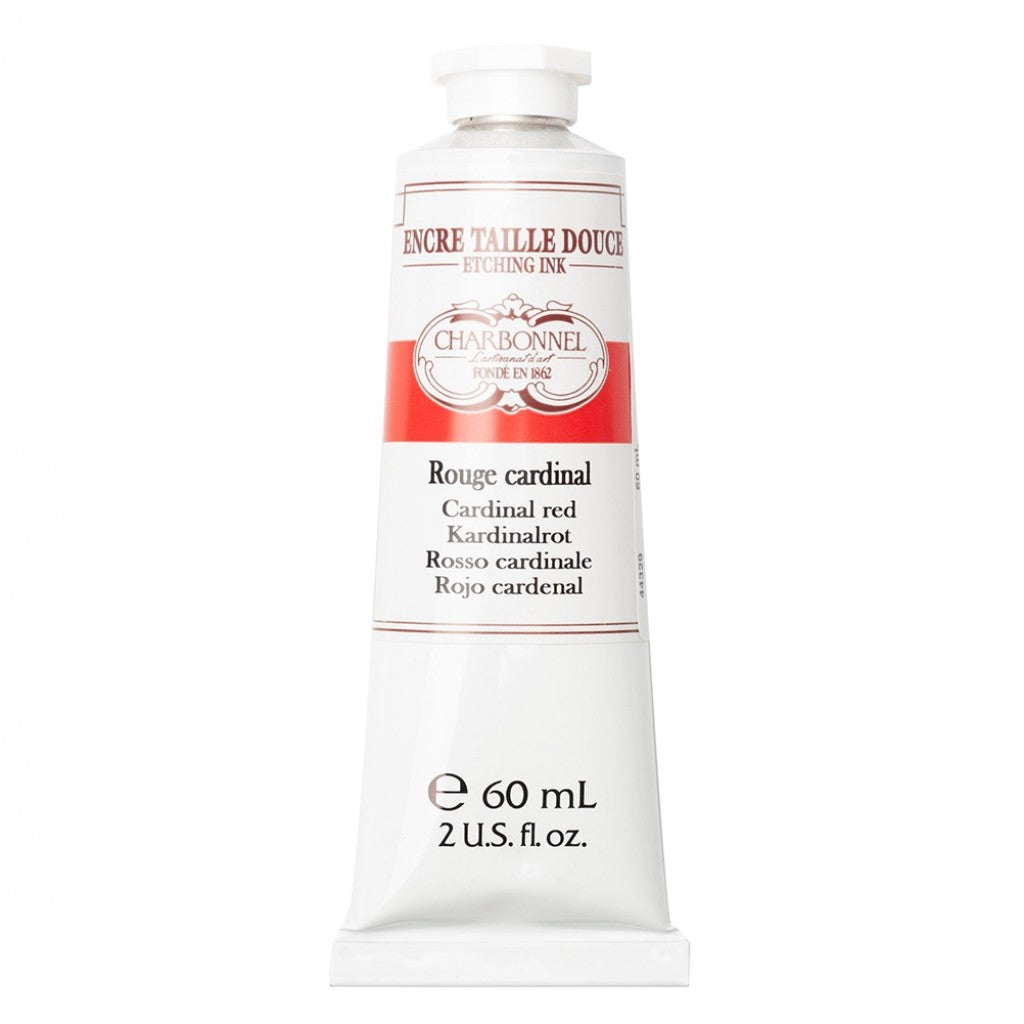Charbonnel Etching Ink - Cardinal Red 60ml.