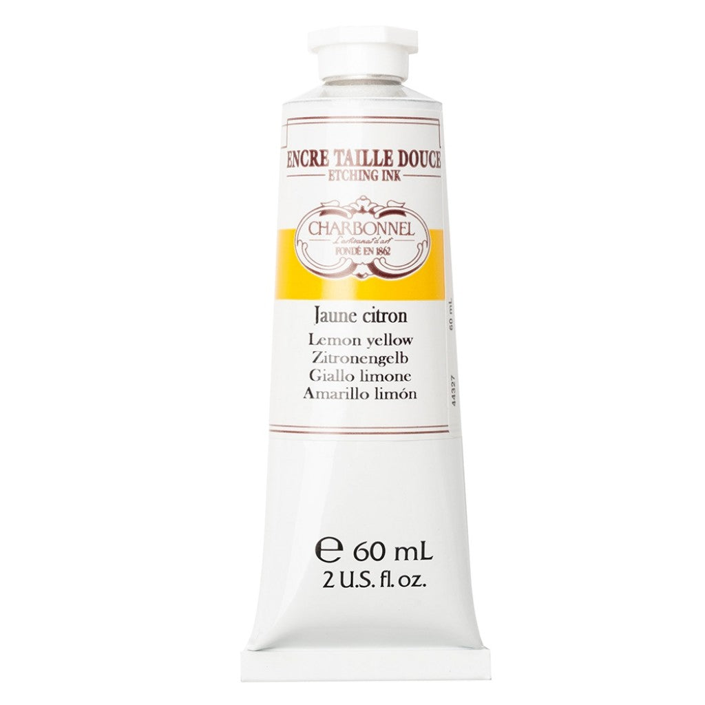Charbonnel Etching Ink - Lemon Yellow 60ml.