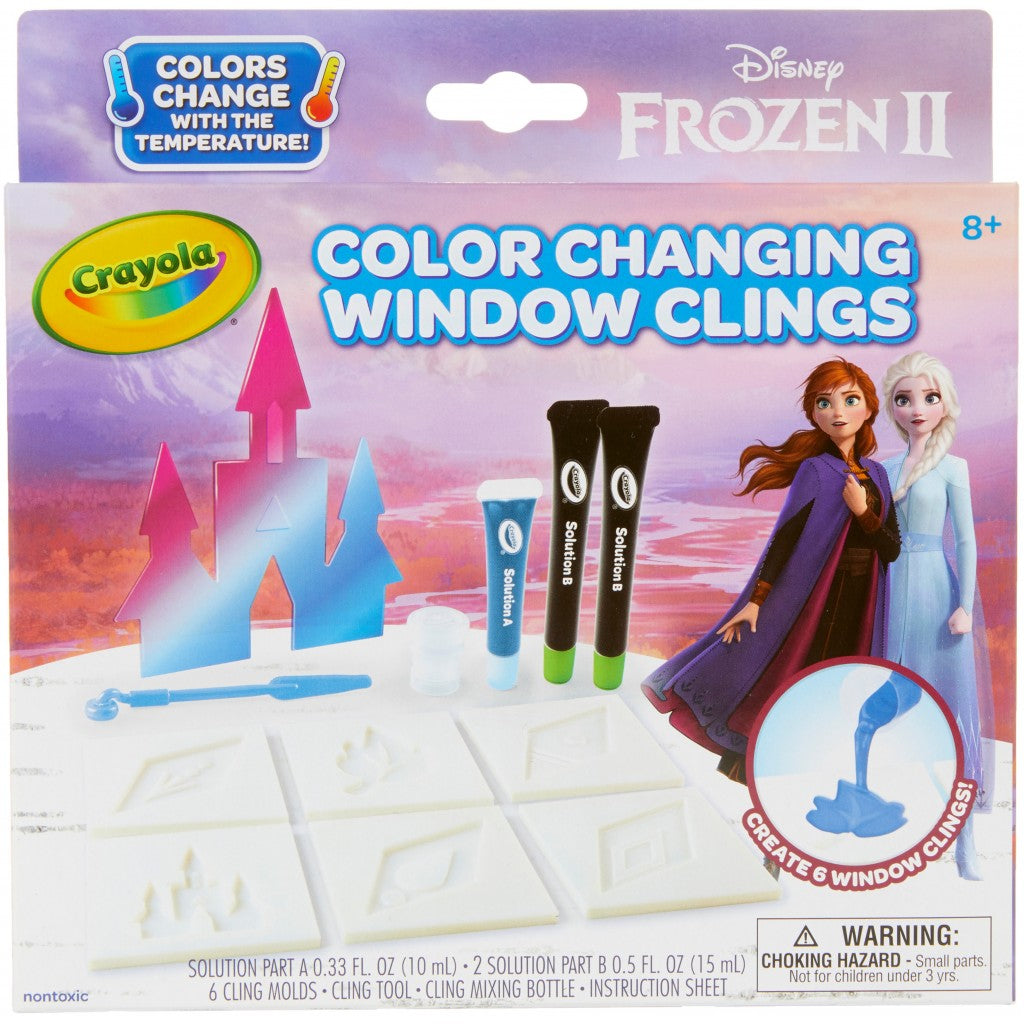 Window Cling, Fargeskiftende - Frozen 2 /Frost 2