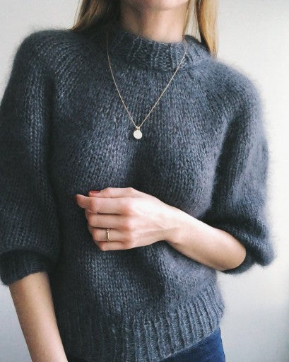 Saturday Night Sweater - Mønster Petite Knit