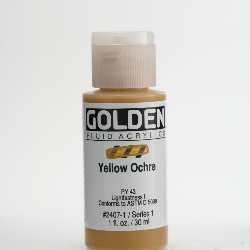 Golden Fluid 30ml - Yellow Ochre
