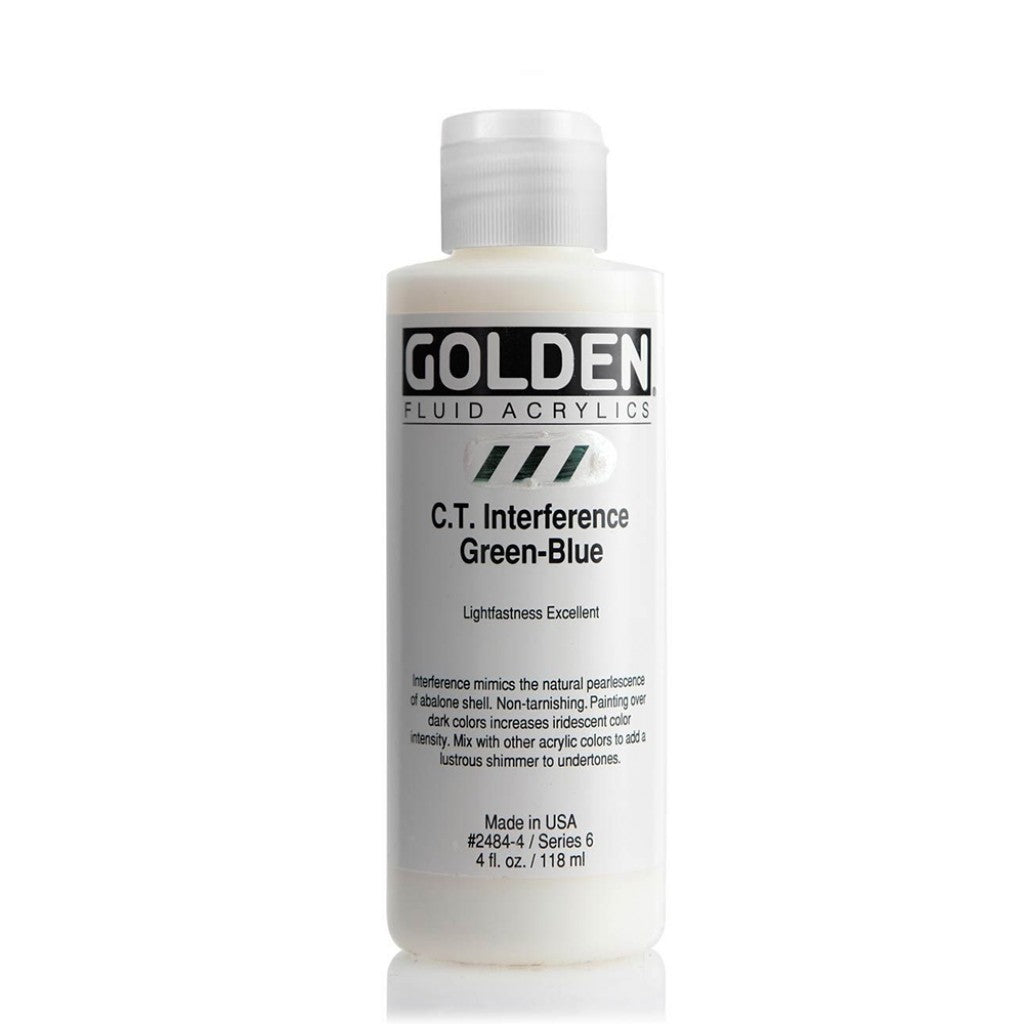 Golden Fluid 118ml - C.T. Interference Green-Blue