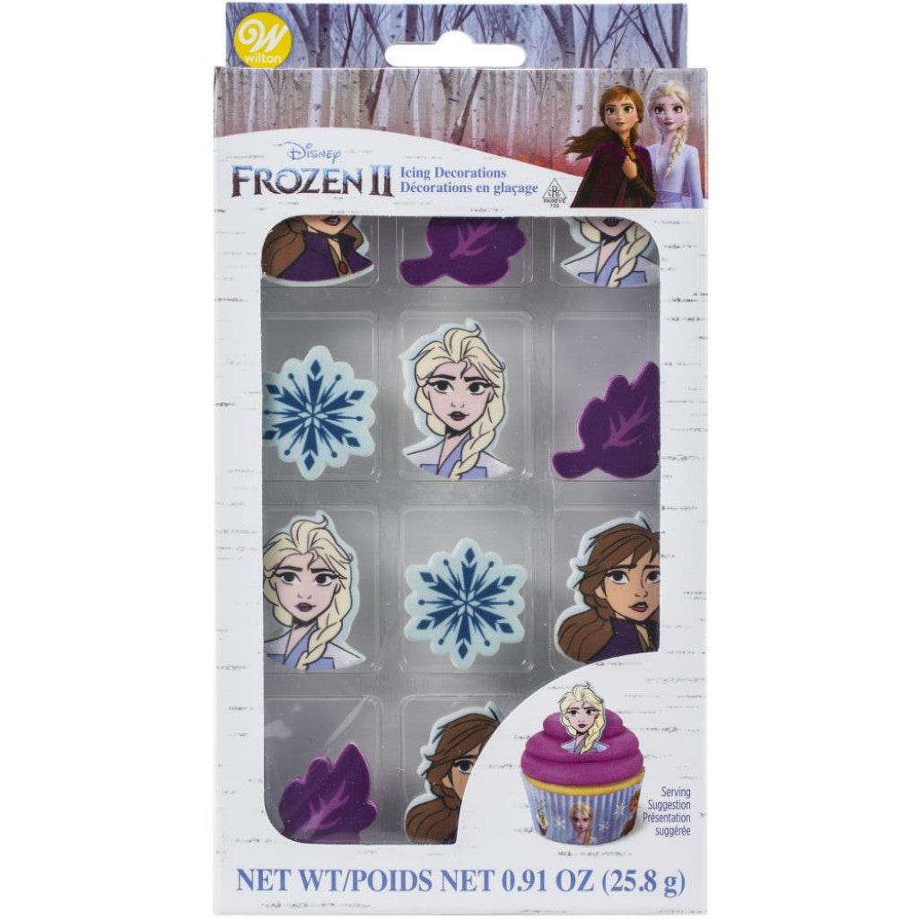 Royal Icing Decorations 24/Pkg-Frozen 2