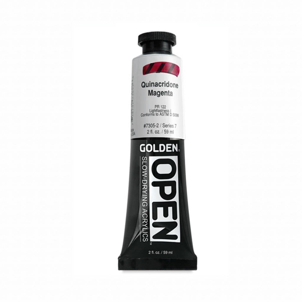 Golden Open 59ml -  Quinacridone Magenta