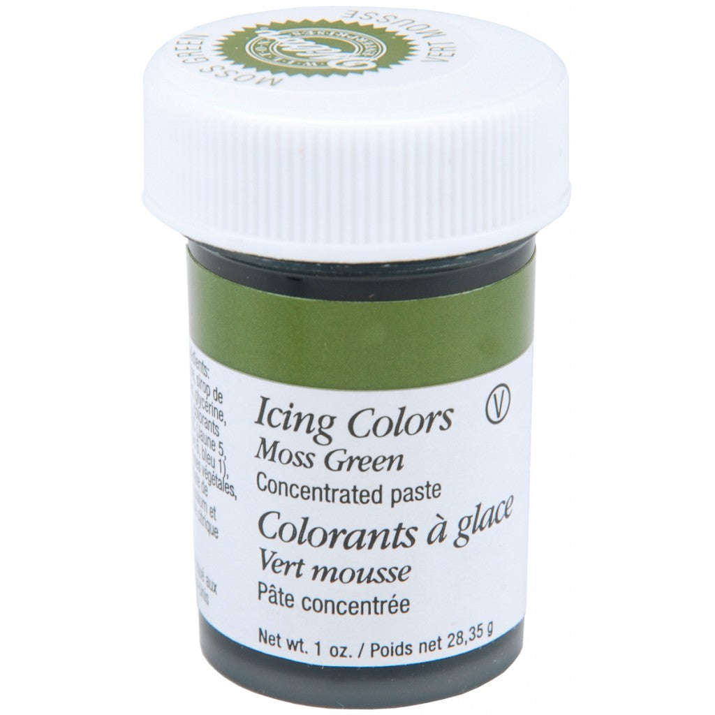 Matfarge Icing Color - Moss Green