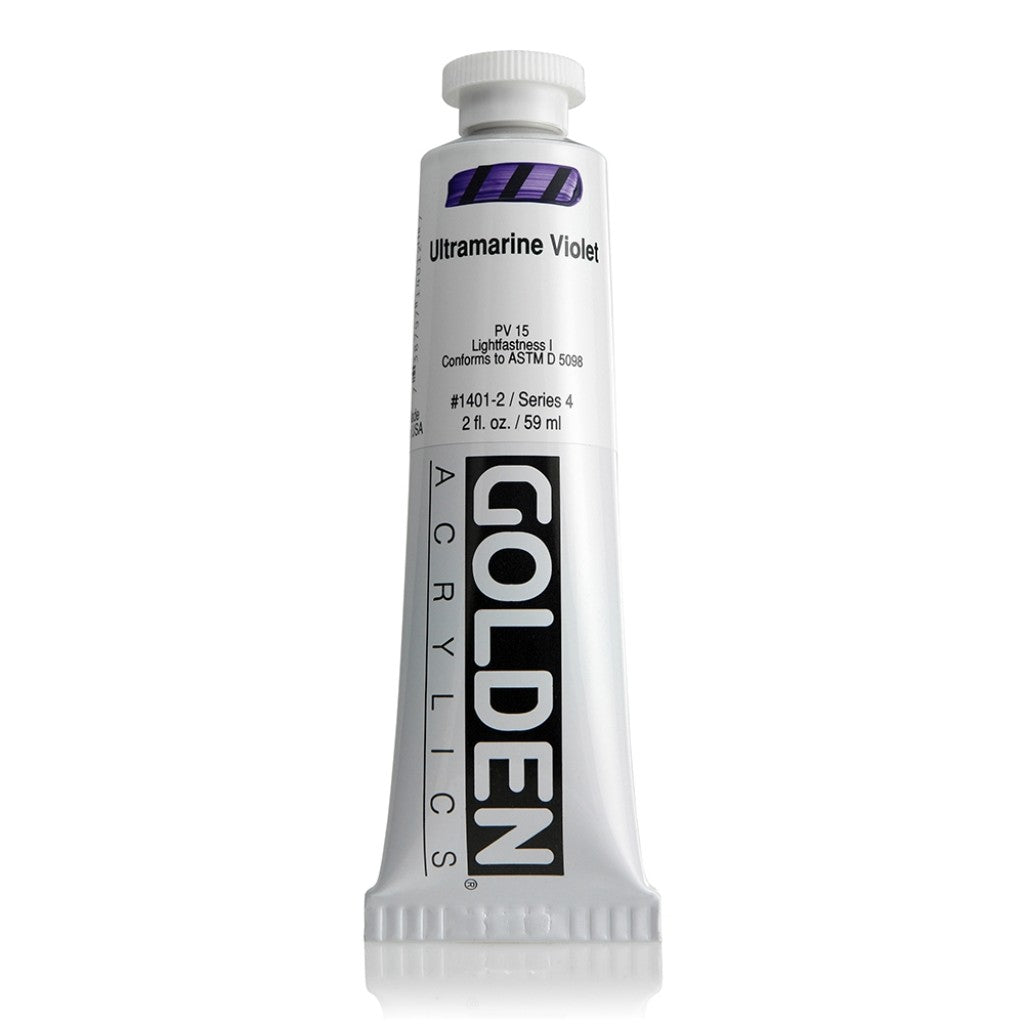 Golden Heavy Body 59ml - 1401-2 - Ultramarine Violet