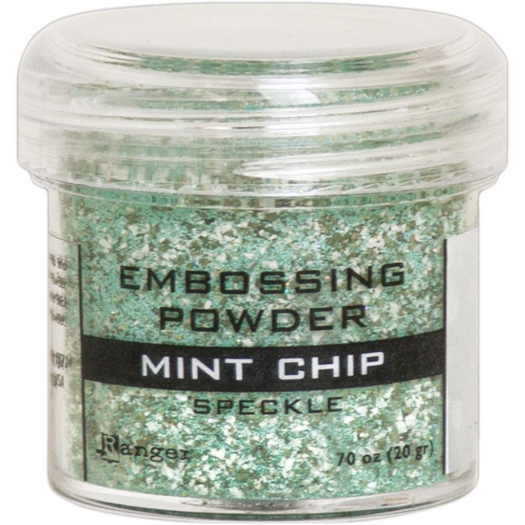 Ranger Embossingpulver - Speckle Mint Chip