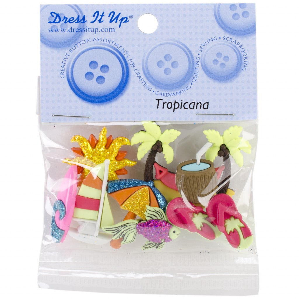 "Knapper ""Dress It Up"" - Tropicana"