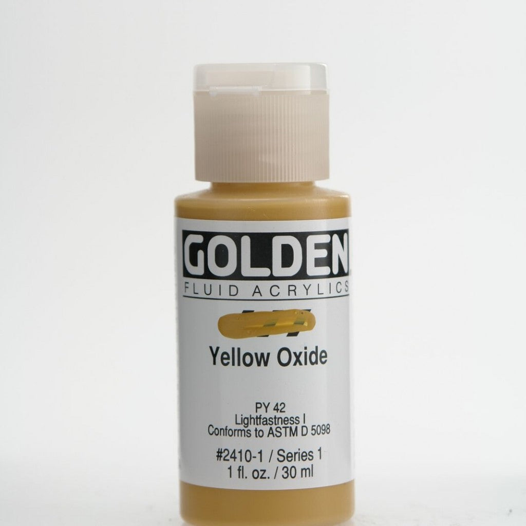 Golden Fluid 30ml - Yellow Oxide