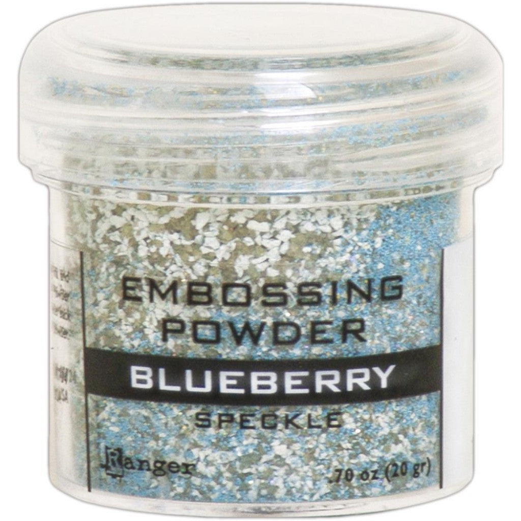 Ranger Embossingpulver - Speckle Blueberry
