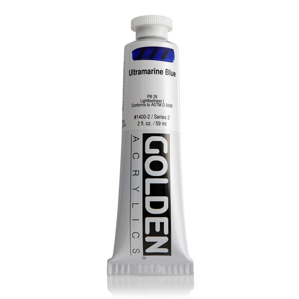 Golden Heavy Body 59ml - 1400-2 - Ultramarine Blue