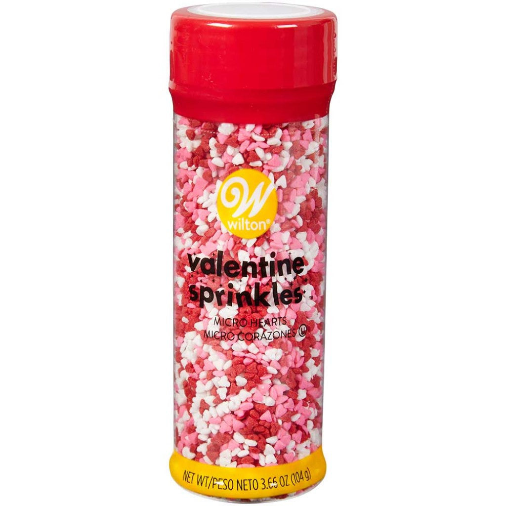 Sprinkles Mix 3.66oz-Red, Pink & White Micro Hearts