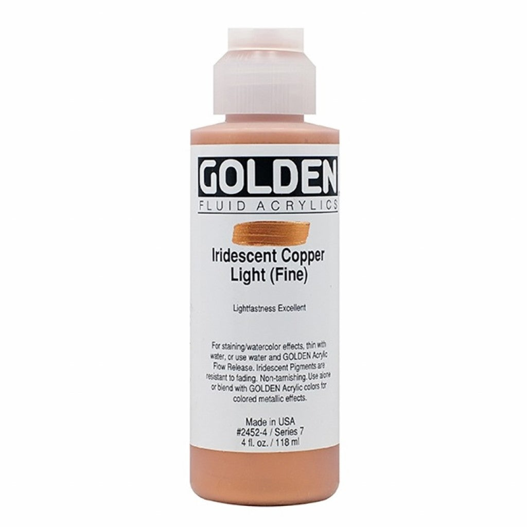 Golden Fluid 118ml - Iridescent Copper Light (Fine)