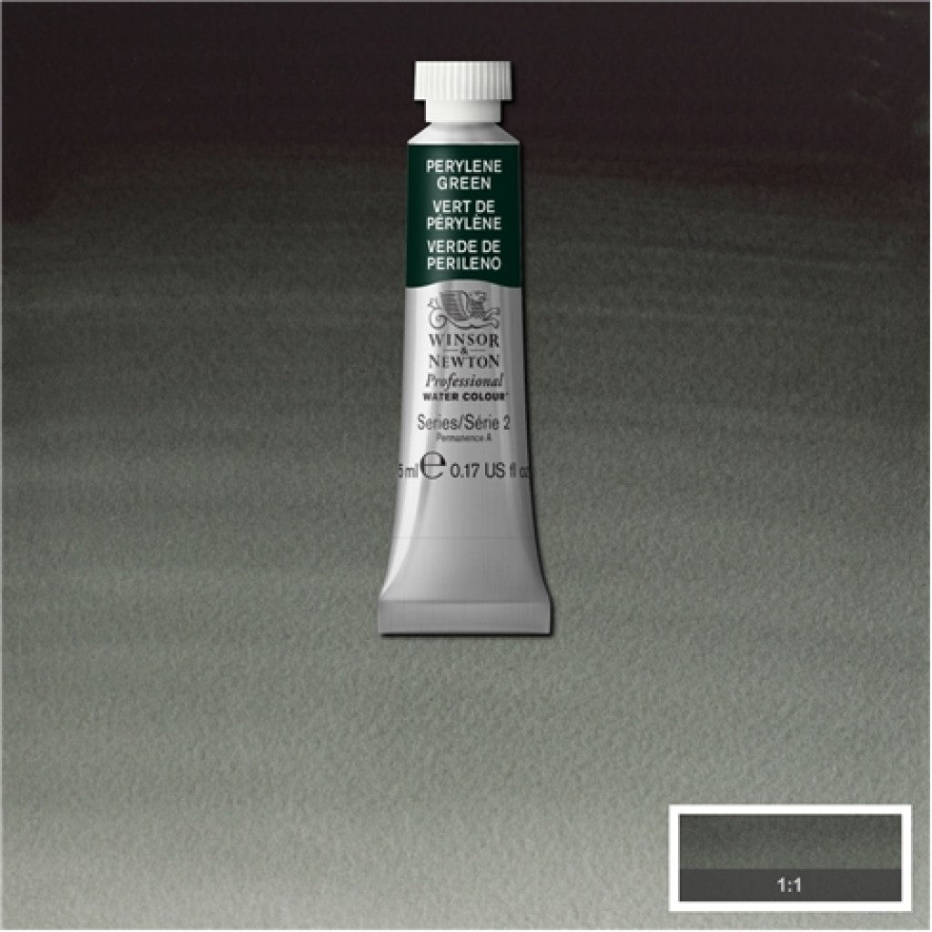 W&N Akvarell Artists 5ml tube - 460 Perylene Green