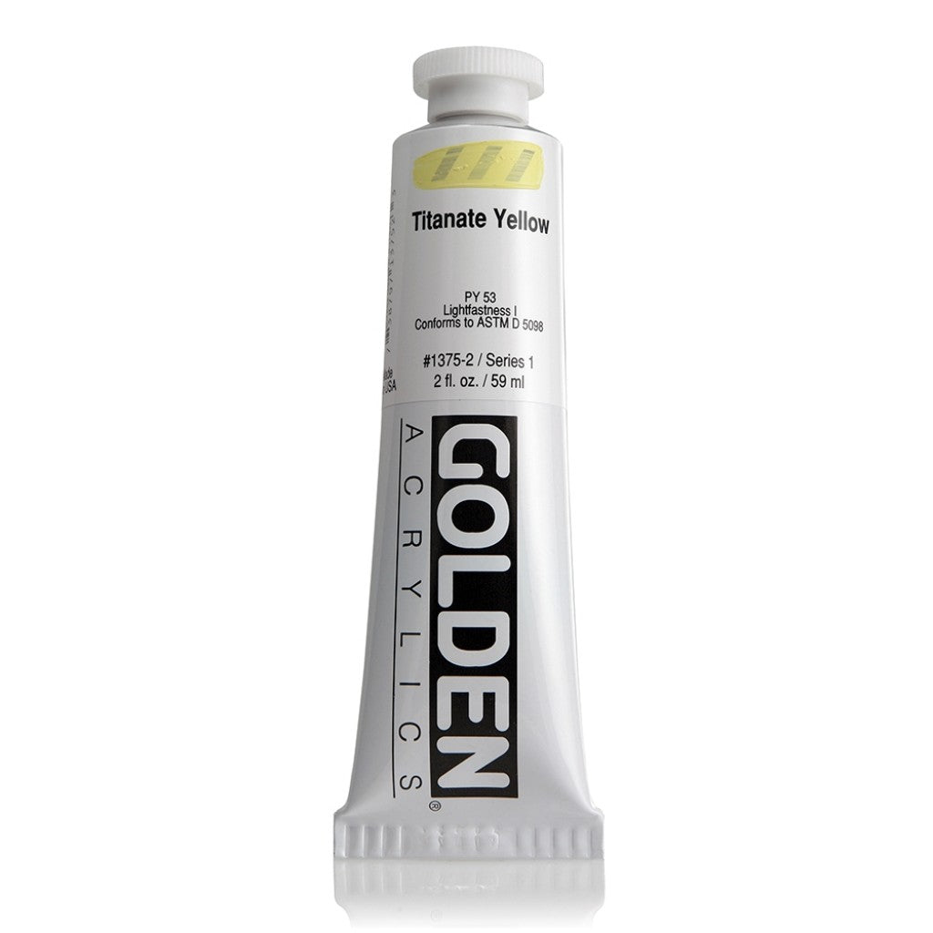 Golden Heavy Body 59ml - 1375-2 - Titanate Yellow