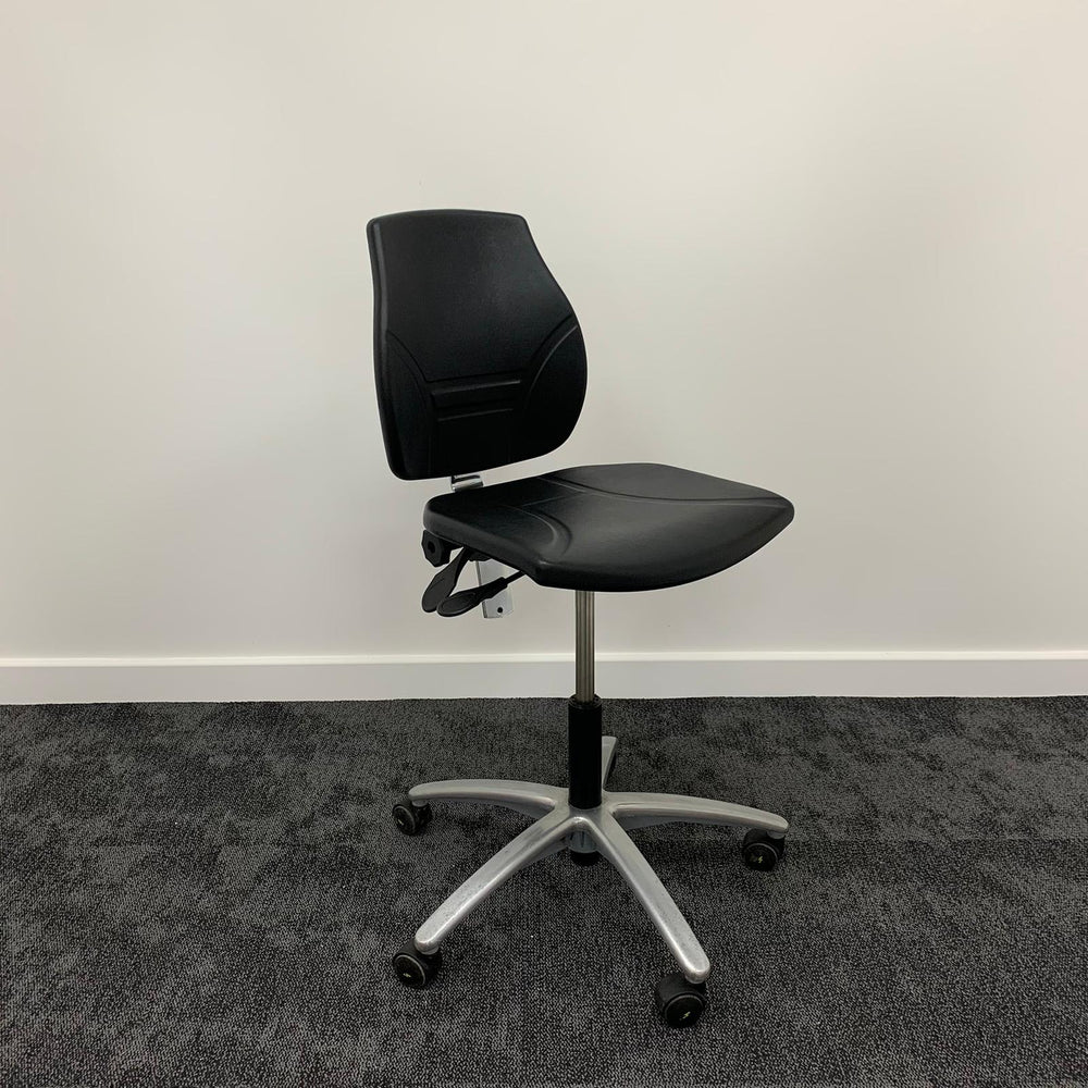PU Plastic Mechanic Task Chair
