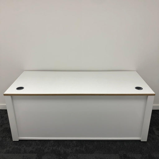 1800mm Rectangular Desk With Panel Ends