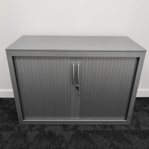 715mm Steelcase Grey Tambour Unit