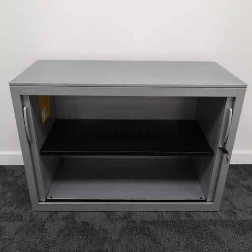 Used 715mm Steelcase Grey Tambour Unit
