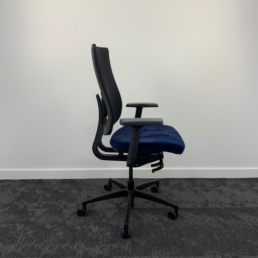 Reupholstered Boss Design Moneypenny Task Chair