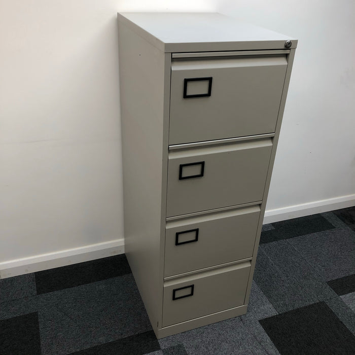 Metal 4-Drawer Filing Cabinet