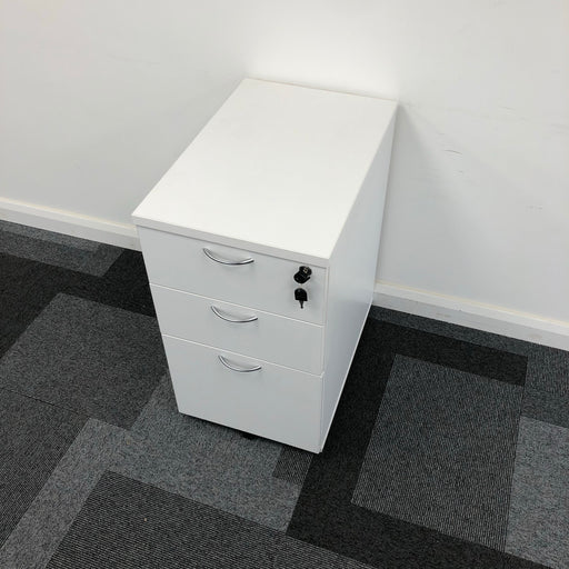 730mm 3 Drawer Desk Drawers