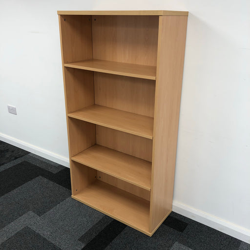 1535mm Light Beech Bookcase
