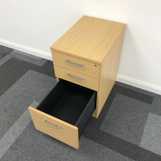 710mm 3 Drawer Desk Drawers