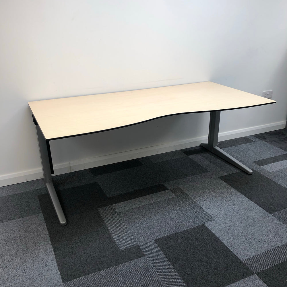 1800mm Double Wave Desk