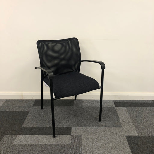 Reupholstered Visitor/Side Mesh Chair