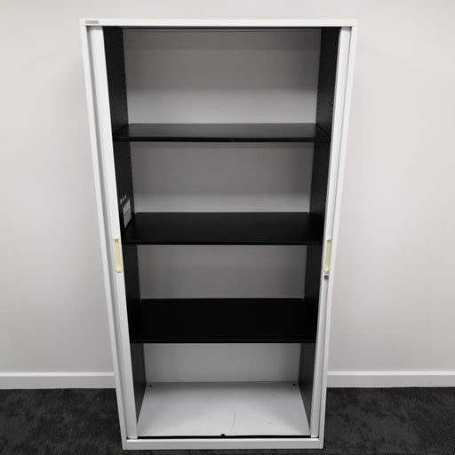 Used 1980mm White Tambour Unit