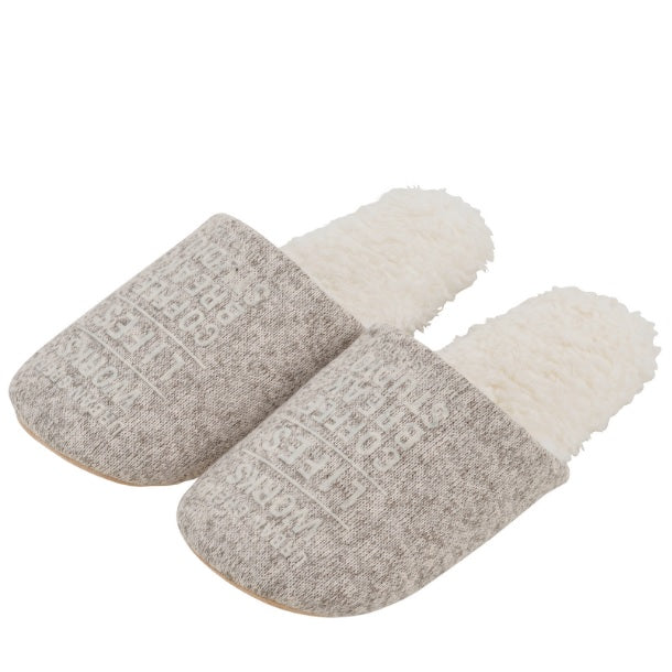 Slippers L Size /Beige 家居鞋